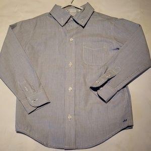 NWOT - Boys Pin Striped Dress Shirt